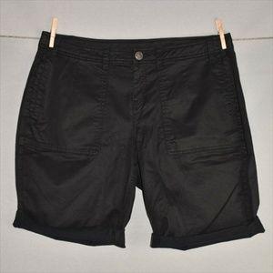LANE BRYANT Stretch Cotton Bermuda Short